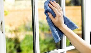 Limpieza de cristales en casas particulares